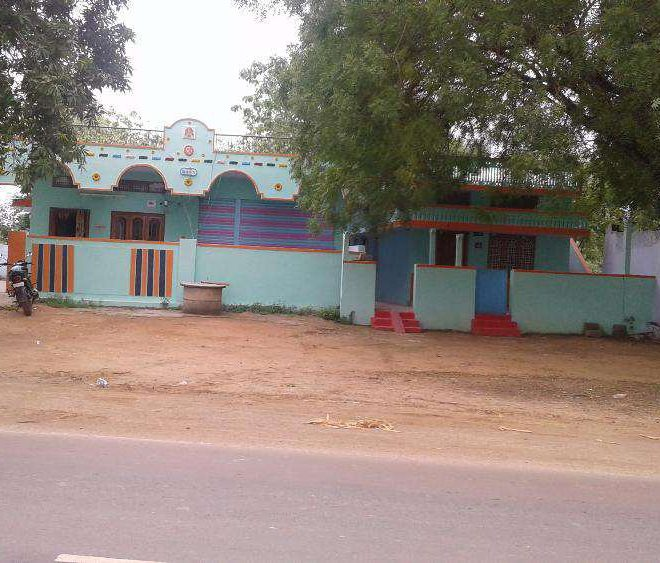 08-07-16-02, REsidential house and land for sale in khammam.